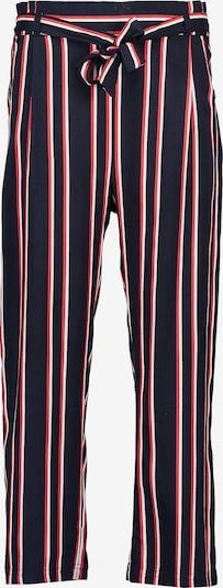 BLUE SEVEN Stoffhose in rot / schwarz, Produktansicht