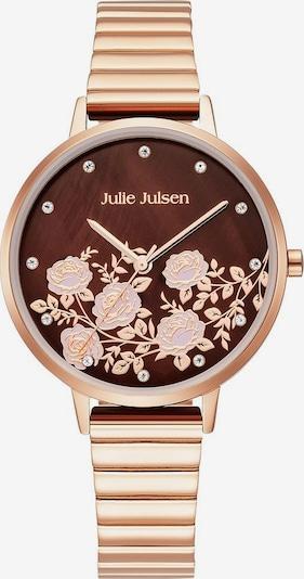 Julie Julsen Quarzuhr 'Rose Garden' in rosegold, Produktansicht