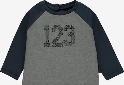 Noppies T-Shirt en gris / noir: Vue de face