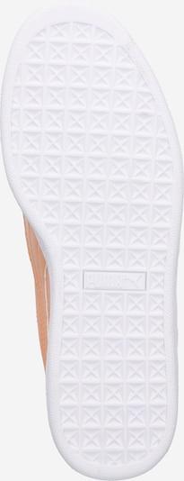 PUMA Sneaker 'Basket Heart' in koralle / weiß: Ansicht von unten