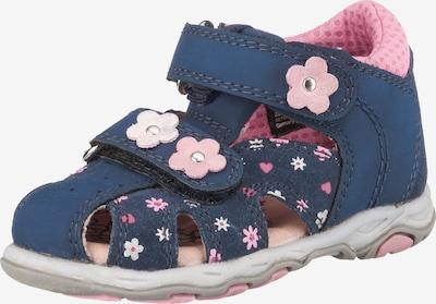 LURCHI Sandalen in blau / hellpink / weiß, Produktansicht
