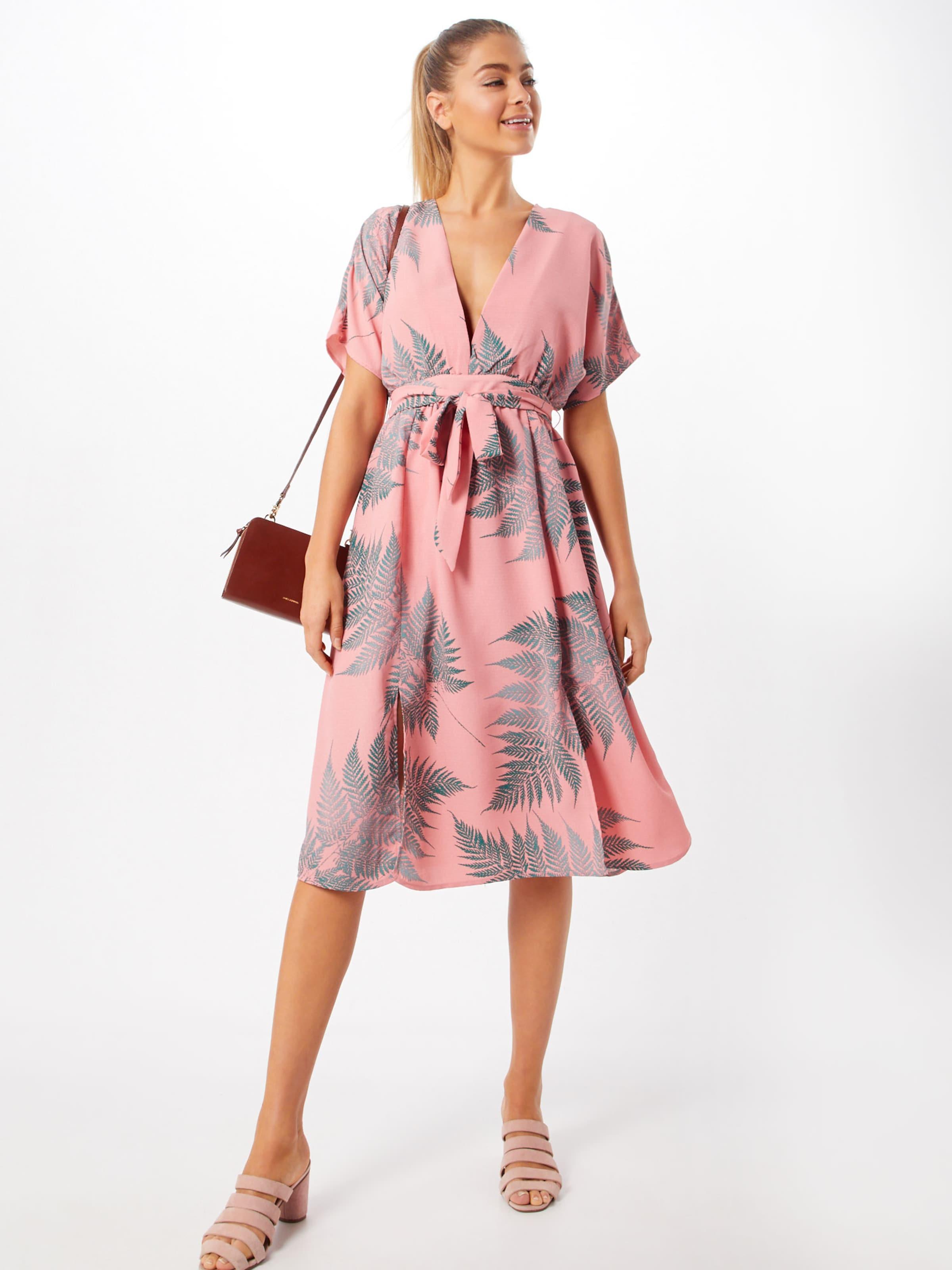 Glamorous Glamorous In GrauPink Kleid Kleid 'ck5396' rhQdts