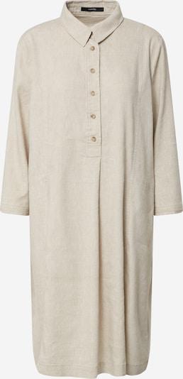 Someday Robe-chemise 'Quynh structure' en pierre / gris clair: Vue de face