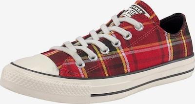 CONVERSE Sneaker 'Chuck Taylor All Star' in rot / schwarz / weiß, Produktansicht