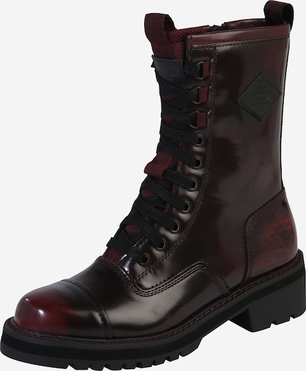 G-Star RAW Laarzen 'Premium Minor Boot' in de kleur Bordeaux, Productweergave