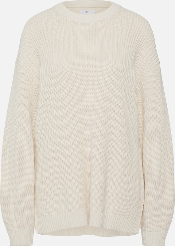Envii Pullover 'ENDIEGO LS LONG KNIT' in offwhite, Produktansicht