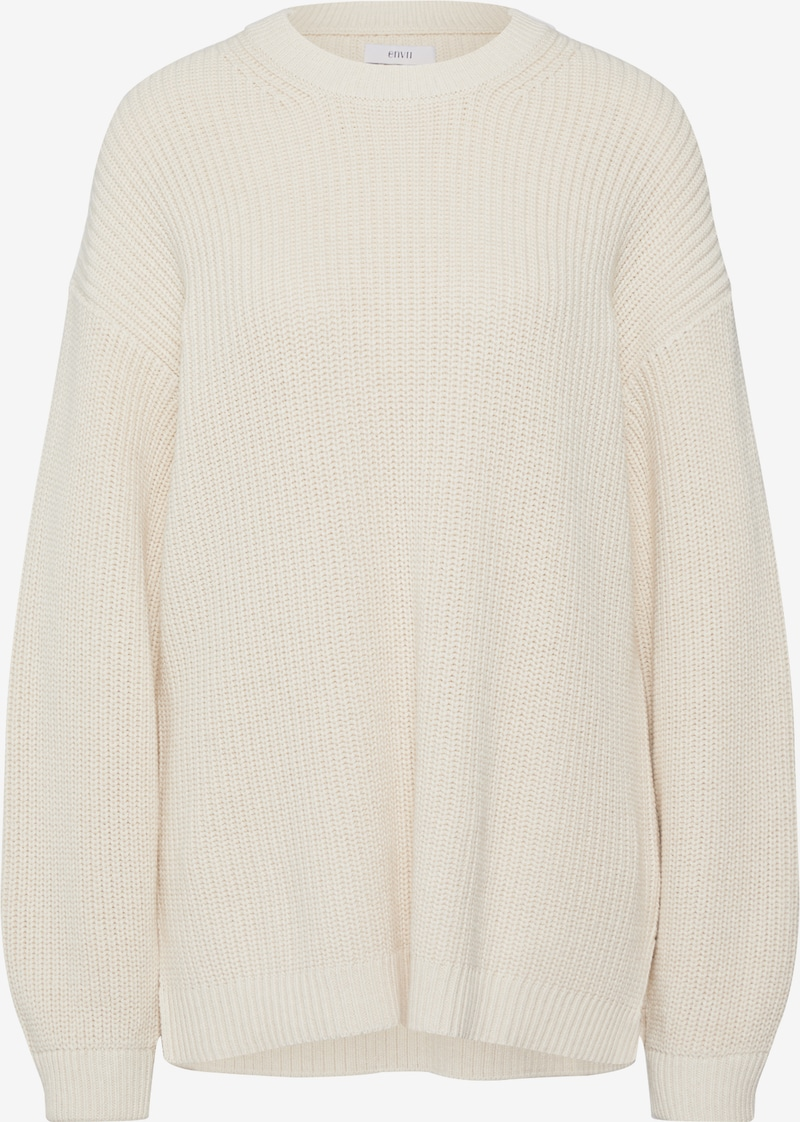 Envii Sweter 'ENDIEGO LS LONG KNIT' offwhite   ABOUT YOU
