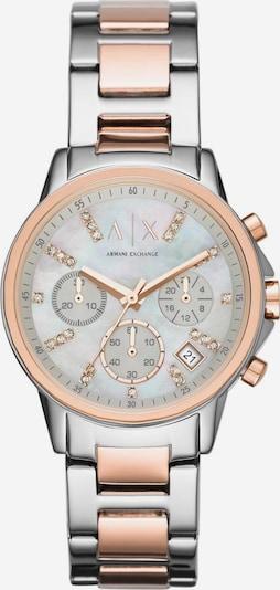 ARMANI EXCHANGE Uhr in rosegold / silber, Produktansicht
