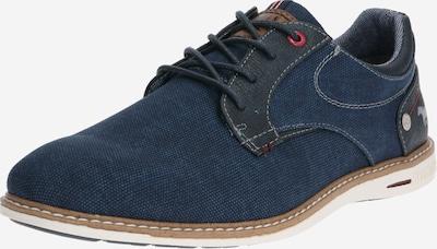 MUSTANG Šněrovací boty - tmavě modrá, Produkt