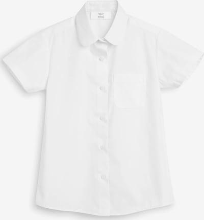 NEXT Kurzarmbluse in weiß, Produktansicht