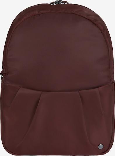 Pacsafe Sac à dos 'Citysafe CX' en rouge cerise, Vue avec produit