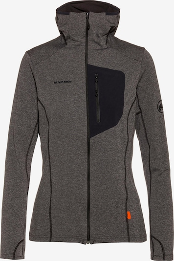 MAMMUT Fleecejacke 'Aconcagua Light' in anthrazit, Produktansicht