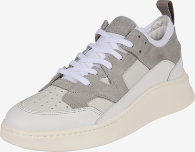 Garment Project Sneakers laag 'New York' in de kleur Grijs / Wit, Productweergave
