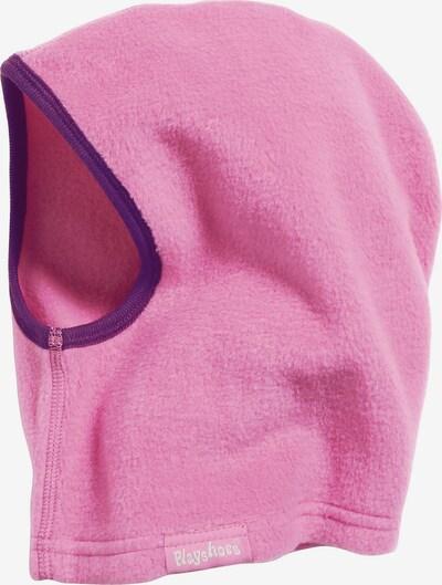 PLAYSHOES Mütze in dunkellila / pink, Produktansicht