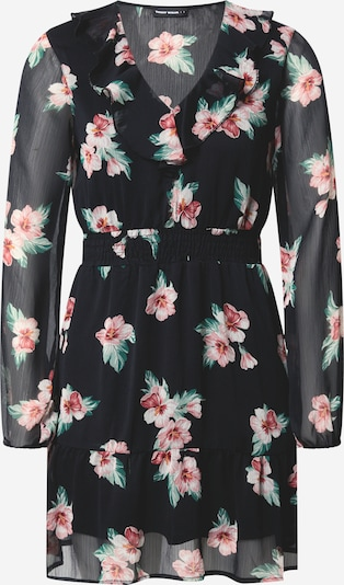 Tally Weijl Vestido en verde / rosa / negro, Vista del producto