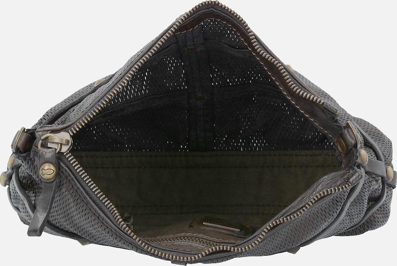 Campomaggi Traditional Clematide Umhängetasche Leder 30 cm