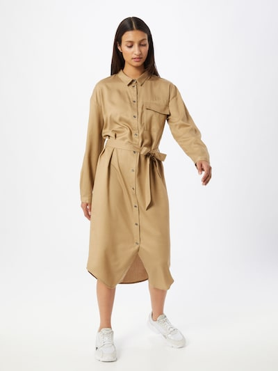 MOSS COPENHAGEN Kleid 'Khady Rosanna' in beige, Modelansicht