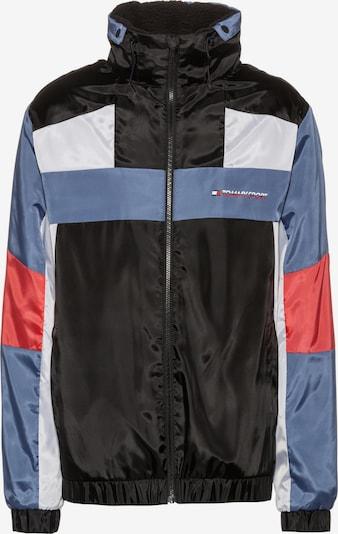 Tommy Sport Nylonjacke in blau / mischfarben / schwarz, Produktansicht