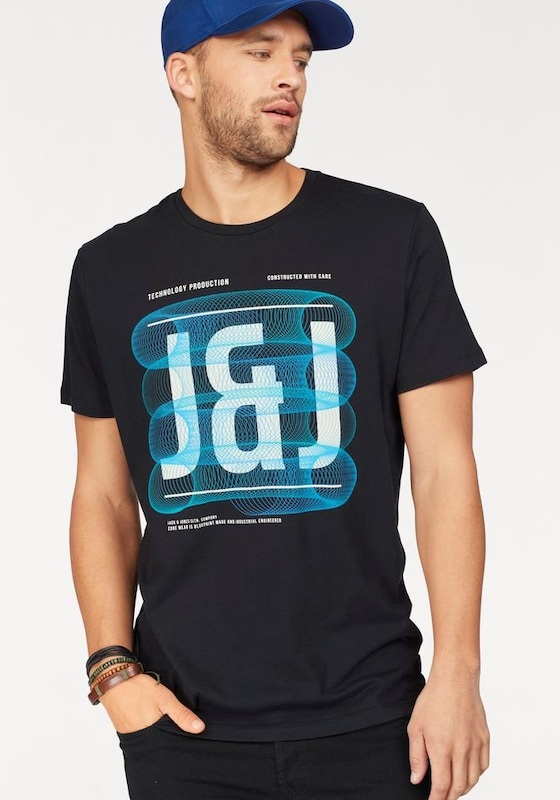 JACK & JONES T-Shirt 'SPRING-FEELING TEE'