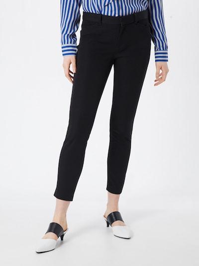 GAP Pantalon 'V-SKINNY ANKLE BISTRETCH' en noir, Vue avec modèle