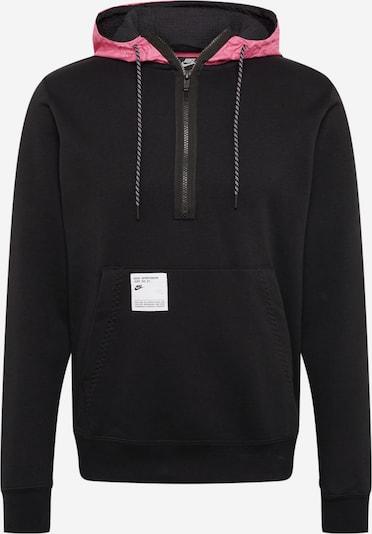 rózsaszín / fekete Nike Sportswear Tréning póló, Termék nézet