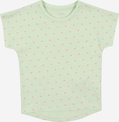 NAME IT Shirt 'Varna' in mint / rot, Produktansicht