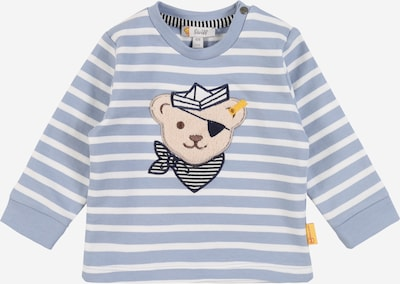 Steiff Collection Sweatshirt in hellblau / weiß, Produktansicht