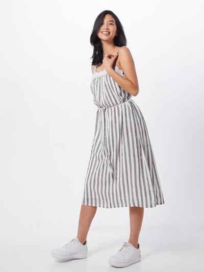 Blend She Kleid 'BSVACCA' in grau / weiß, Modelansicht