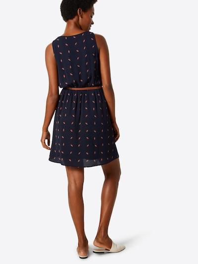 ABOUT YOU Kleid 'Susann' in dunkelblau / ocker: Rückansicht