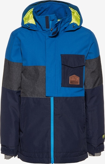 PROTEST Snowboardjacke 'Randal' in blau / dunkelblau / dunkelgrau, Produktansicht