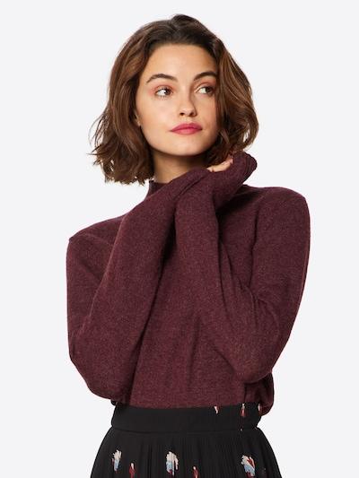 VILA Pullover in rubinrot: Frontalansicht