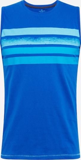 TOM TAILOR Majica u tirkiz / kraljevsko plava / pastelno plava, Pregled proizvoda