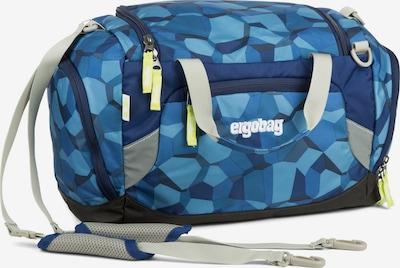 ergobag Weekendtas in de kleur Blauw / Royal blue/koningsblauw / Lichtblauw, Productweergave