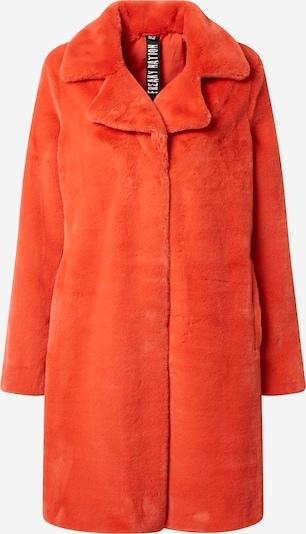 FREAKY NATION Mantel 'Plush Love' in orangerot, Produktansicht