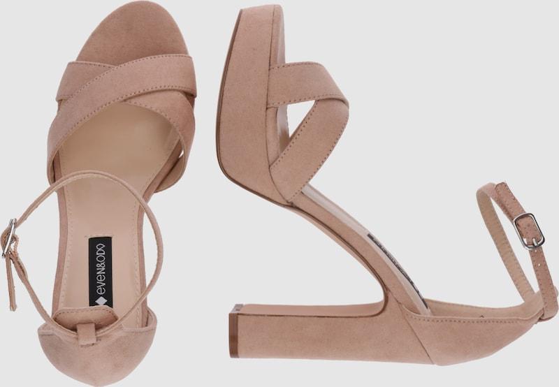 even&odd Riemchensandalen Verschleißfeste Schuhe billige Schuhe Verschleißfeste Hohe Qualität 76bd9c