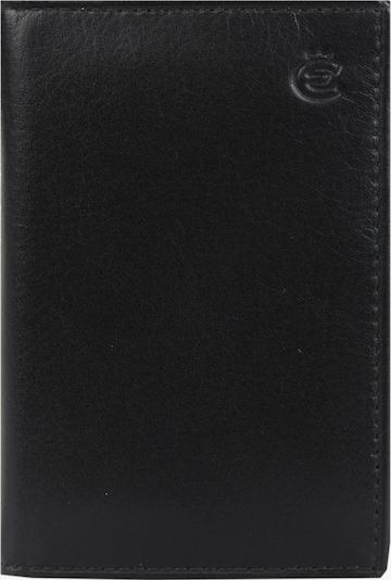 Esquire Visitenkartenetui in schwarz, Produktansicht