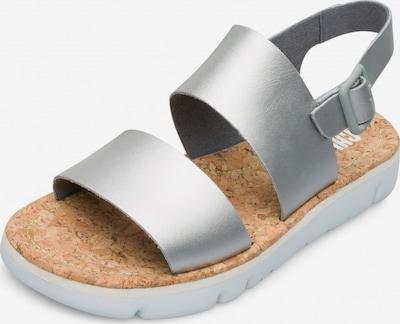 CAMPER Sandale 'Oruga' in silber, Produktansicht