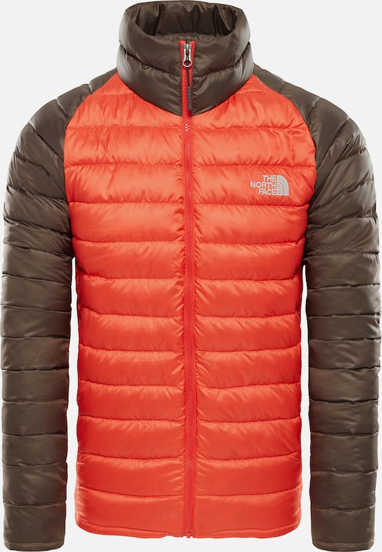 THE NORTH FACE Funktionsjacke 'Trevail' 'Trevail' 'Trevail' in braun   Orangerot  Mode neue Kleidung 9a93b4