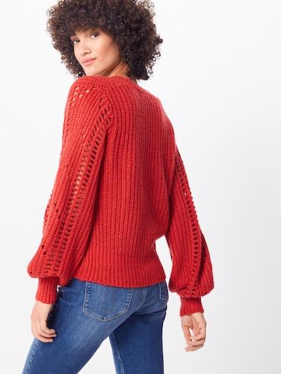 Megztinis 'Pointelle' iš IVYREVEL , spalva - raudona: Vaizdas iš galinės pusės