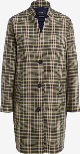SET Mantel in khaki / hellgrün / schwarz / weiß, Produktansicht