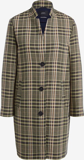 SET Between-seasons coat in khaki / light green / black / white, Item view