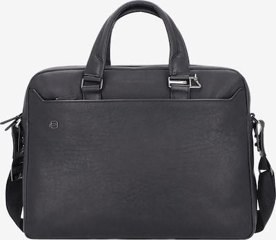 Piquadro Aktentas 'Black Square' in de kleur Zwart, Productweergave