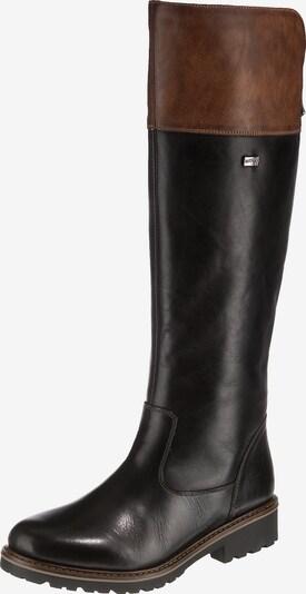 REMONTE Stiefel in braun / schwarz, Produktansicht