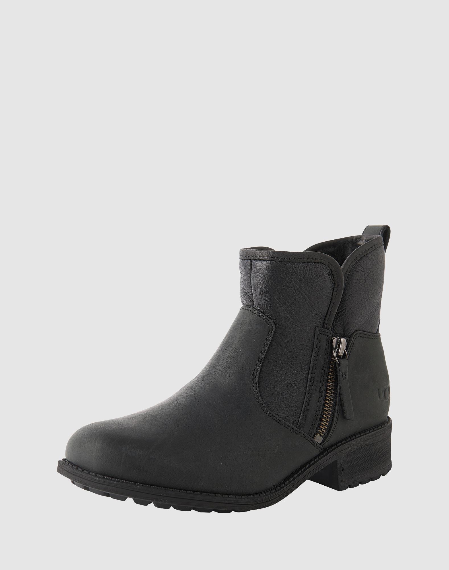ugg boots mit zipper 39 lavelle 39 in schwarz about you. Black Bedroom Furniture Sets. Home Design Ideas