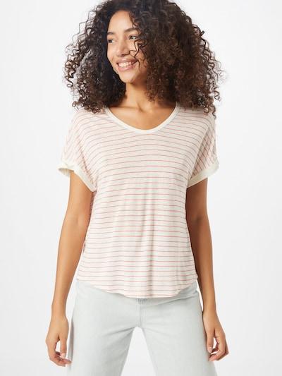 s.Oliver T-shirt en rose / blanc: Vue de face