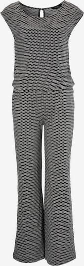 Aniston SELECTED Jumpsuit in schwarz / weiß, Produktansicht