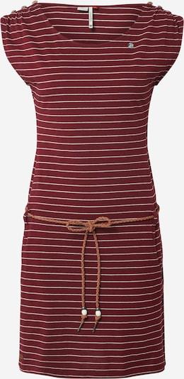 Ragwear Kleid 'CHEGO' in weinrot, Produktansicht