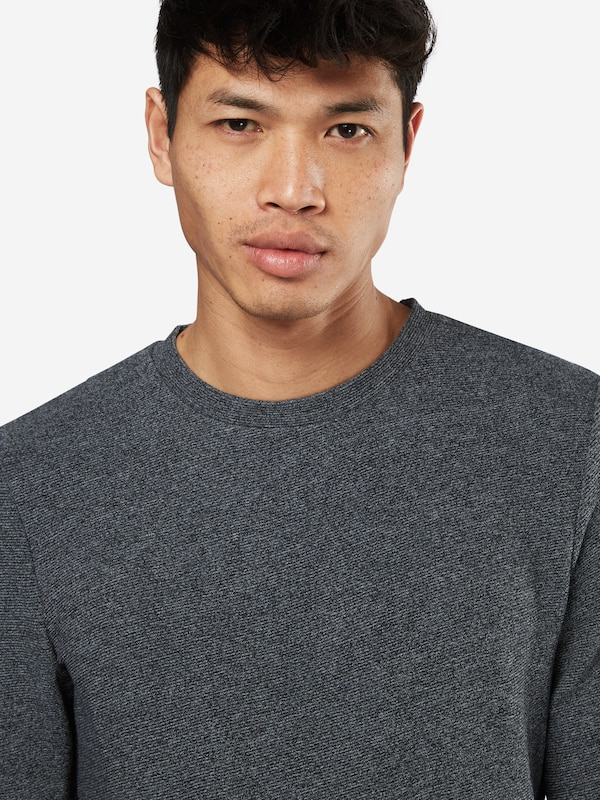 TOM TAILOR DENIM Sweatshirt 'in new structure'