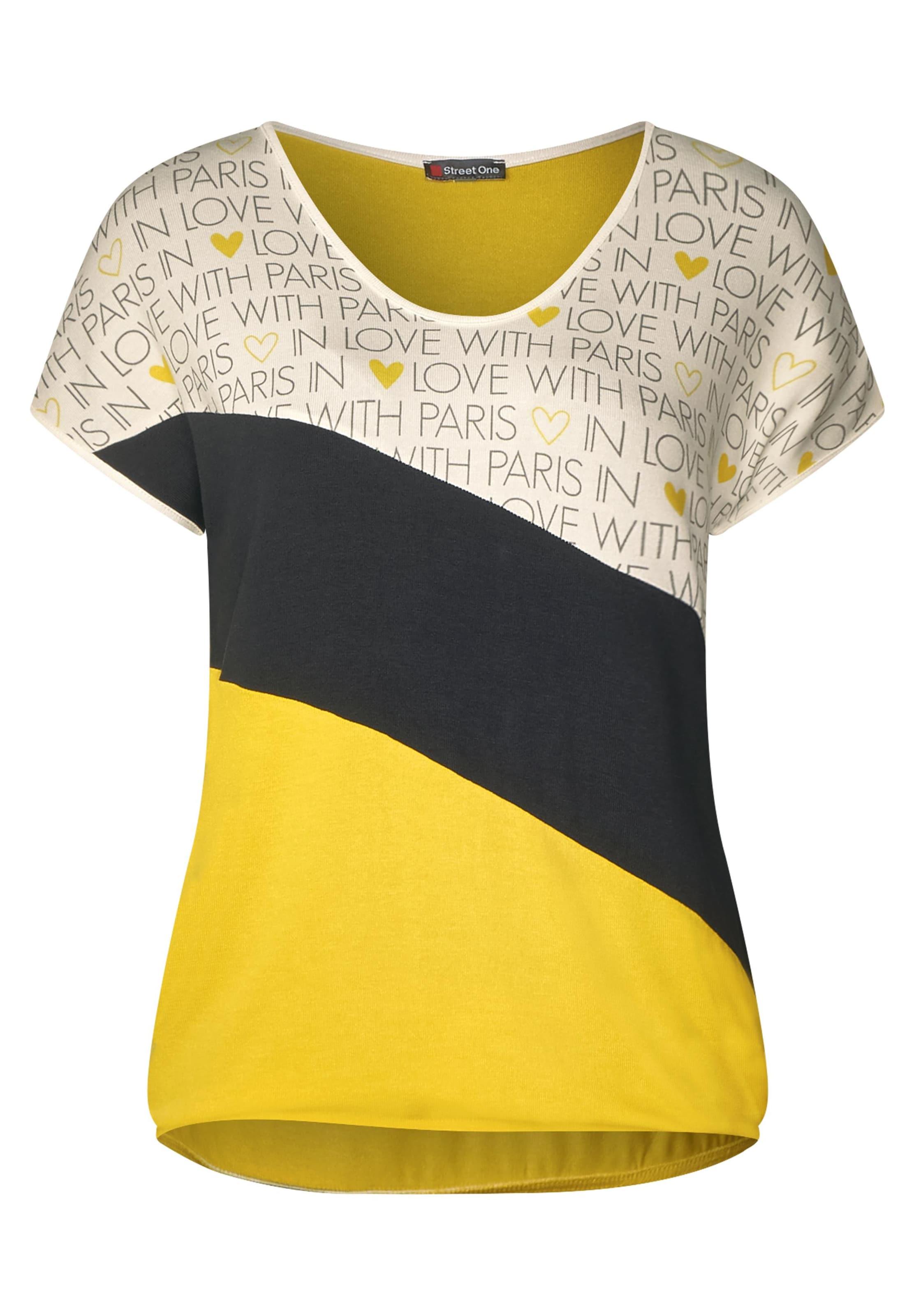 GelbSchwarz Street Street In One Shirt One Shirt In GelbSchwarz rhQxsdBoCt