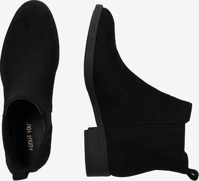 ABOUT YOU Chelsea Boots 'Fine' in schwarz: Seitenansicht